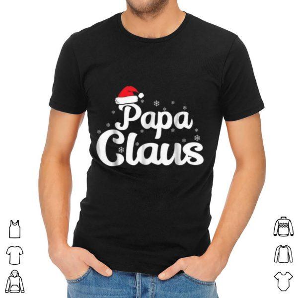 Pretty Papa Claus Christmas Family Matching Pajama shirt