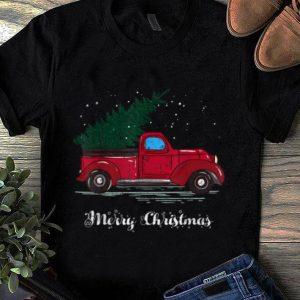 Pretty Red Truck Christmas Pajama shirt
