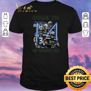 Pretty Signatures Come To The Seattle Seahawks Side Star Wars shirt