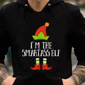 Pretty Smartass Elf Matching Family Group Christmas Pajama T sweater