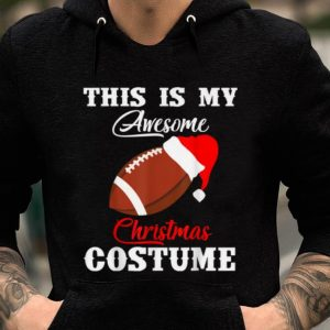 Pretty This's My Awesome Christmas Costume For Football's Lover sweater