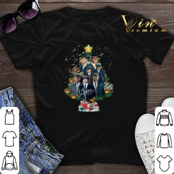Signature Peaky Blinders Christmas tree shirt