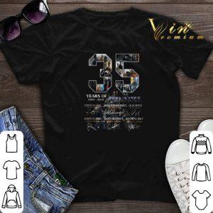 Signatures 35 Years Of The Terminator 1984-2019 shirt