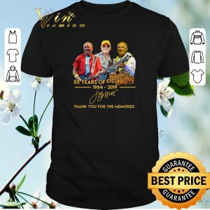 Thank you for the memories 55 years of Jimmy Buffett 1964-2019 shirt