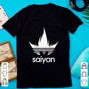 Top Dragon Ball Z DBZ Saiyan Adidas shirt