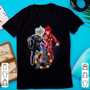 Top Goku Ultra Instinct and Vegeta Super Saiyan God Avengers Endgame shirt