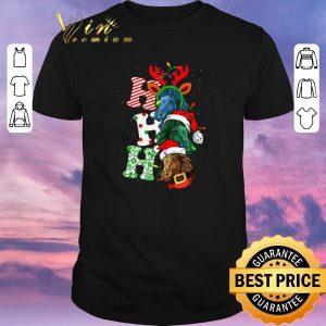Top Ho Ho Ho Santa Horse Christmas shirt sweter
