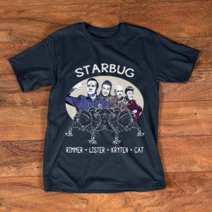 Top Starbug Red Dwarf Rimmer Lister Kryten Cat shirt