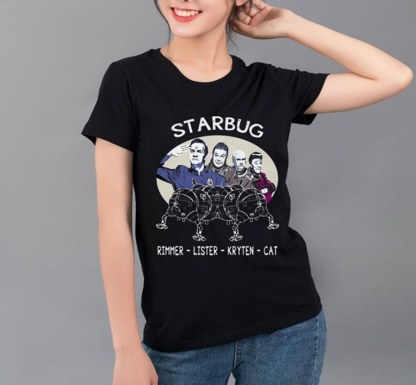 Top Starbug Red Dwarf Rimmer Lister Kryten Cat shirt 4 - Top Starbug Red Dwarf Rimmer Lister Kryten Cat shirt