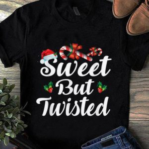 Top Sweet But Twisted Christmas Candy Canes Tee Xmas Holidays shirt