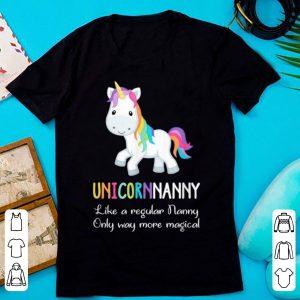 Top Unicorn Nanny Cute Magical Funny Christmas Gift shirt