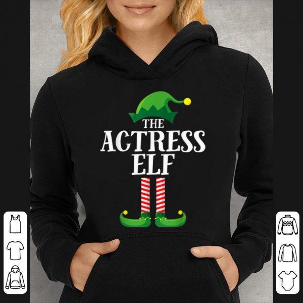 Actress Elf Matching Family Group Christmas Party Pajama sweater