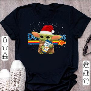 Awesome Dutch Bros Coffee Santa Baby Yoda Merry Christmas shirt