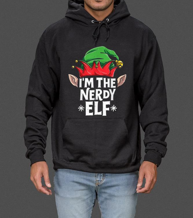 Awesome I m The Nerdy Elf Funny Christmas Family Matching Pajamas sweater 4 - Awesome I'm The Nerdy Elf Funny Christmas Family Matching Pajamas sweater