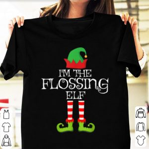 Awesome I'm the Flossing Elf Matching Family Group Christmas sweater