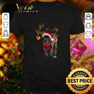 Awesome Santa Cane corso gorgeous reindeer Christmas shirt
