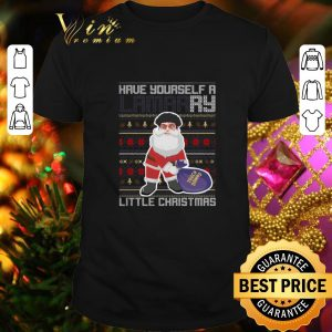 Awesome Santa have yourself a Lamarry little Chirtsmas ugly shirt