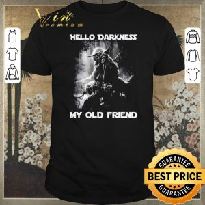 Awesome Yoda hello darkness my old friend shirt sweater