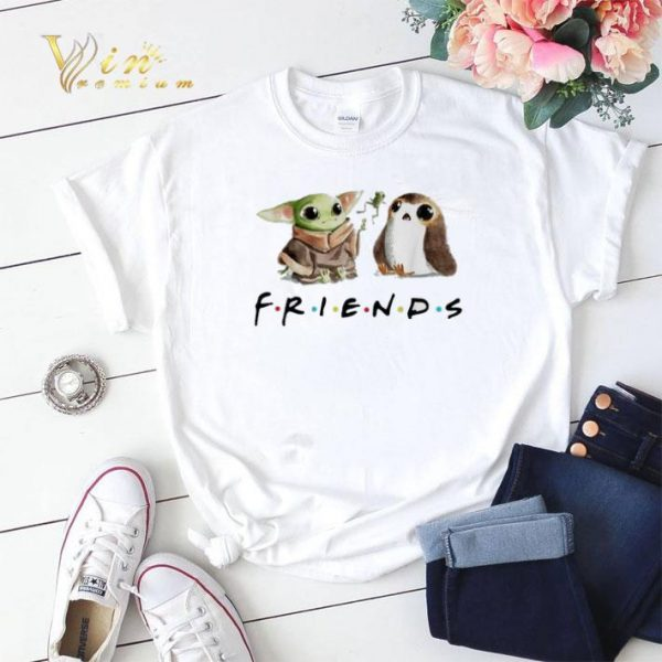 Baby Yoda and Porg Friends shirt sweater