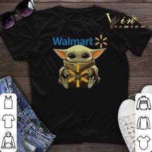 Baby Yoda hug Walmart Star Wars Mandalorian shirt sweater