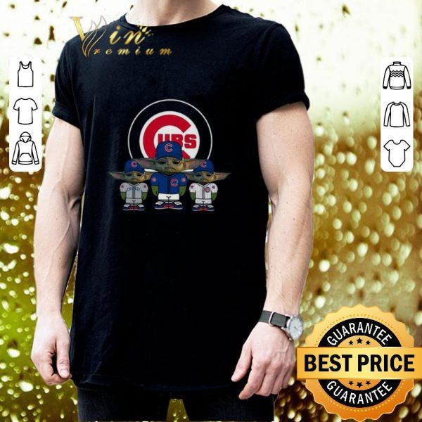 Best Baby Yoda Chicago Cubs shirt