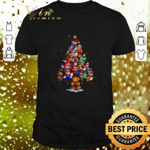 Best Super Mario Christmas tree shirt