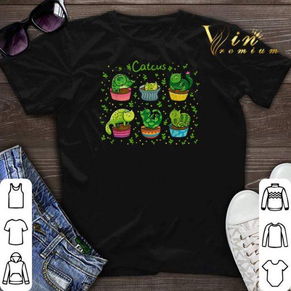 Catcus Mashup Cat And Cactus shirt sweater