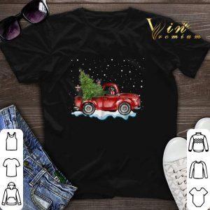 Christmas Boston Terrier Truck shirt