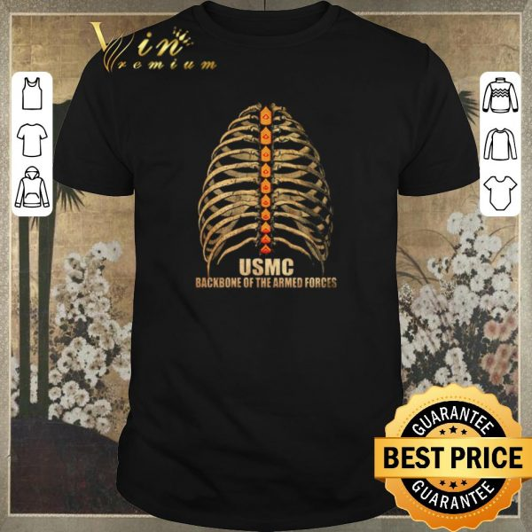 Funny USMC backbone of the Armed Forces shirt sweater