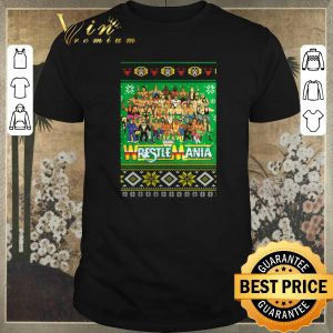 Funny Ugly Christmas WrestleMania 3D sweater