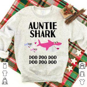 Great Auntie Shark Doo Doo Christmas Birthday Aunt Gift sweater