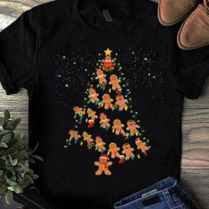 Great Jolly Gingerbread Christmas Tree Xmas Gingerbread Decor Gift sweater
