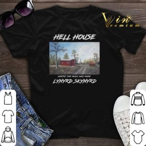 Hell House where the music was made Lynyrd Skynyrd shirt sweater
