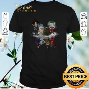 Hot Baby Yoda John Wick Rick Sanchez Joker water mirror reflection shirt sweater