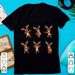 Hot Dancing Reindeer Dance Challenge Boys Girls Kids Xmas sweater