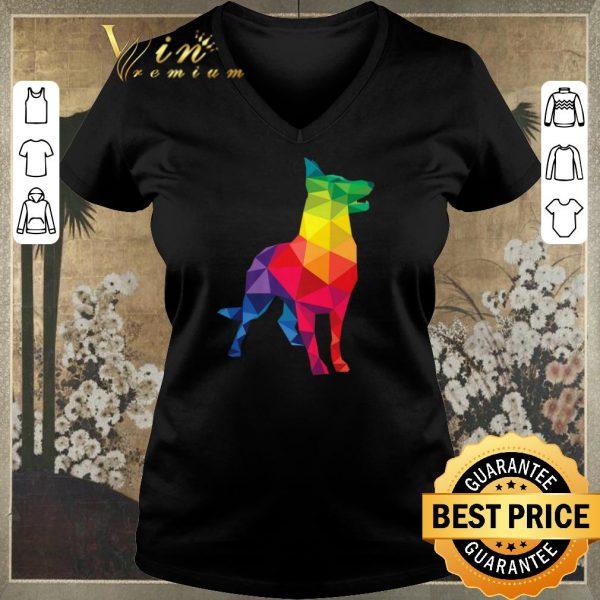 Hot German Shepherd dog Gay Pride LGBT shirt sweater