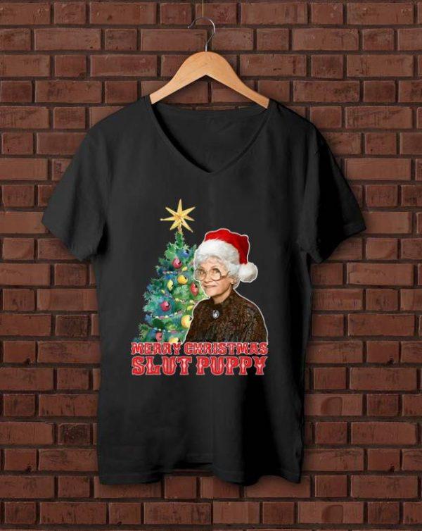Hot Golden girls Sophia Petrillo Merry Christmas slut puppy Xmas shirt