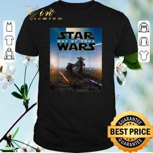 Hot Star Wars way of Yoda Poster shirt sweater