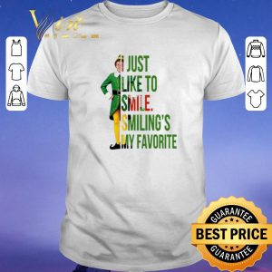 Hot elf buddy hobbs i just like to smile smilings my favorite shirt sweater