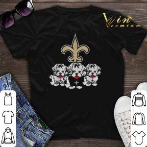 New Orleans Saints Shih Tzu shirt sweater