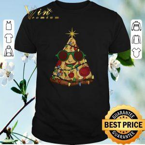Nice Christmas Tree Pizza shirt
