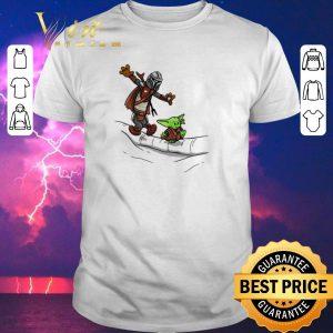 Nice Mando and Baby Yoda Mandalorian shirt sweater