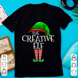Nice The Creative Elf Family Matching Group Christmas Gift Funny sweater