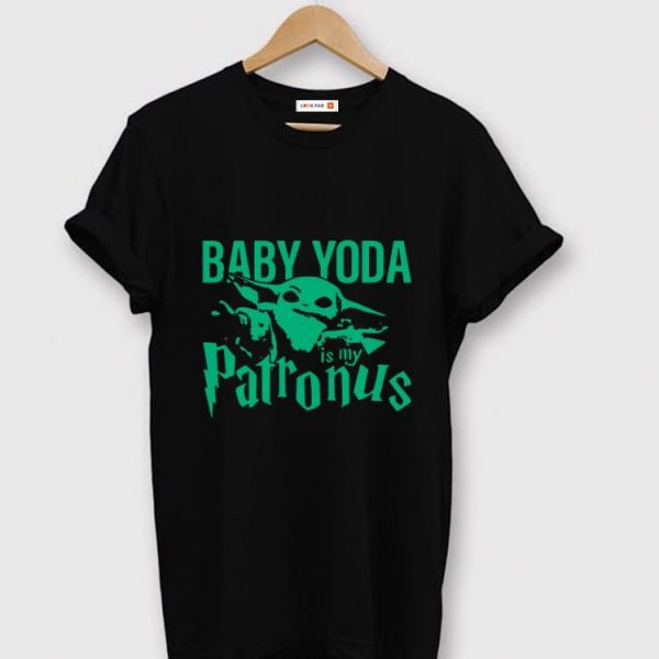 Nice is my Patronus Baby Yoda shirt