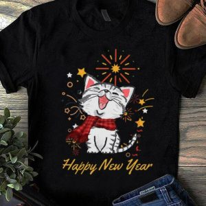 Official Cat Happy New Years shirt