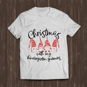 Official Christmas With My Kindergarten Gnomies shirt