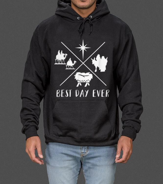 Official Modern Nativity Scene Best Day Ever Christmas sweater 4 - Official Modern Nativity Scene Best Day Ever Christmas sweater