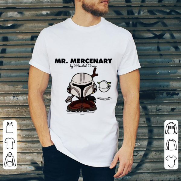 Official Mr Mercenary By Mandal Orian shirt