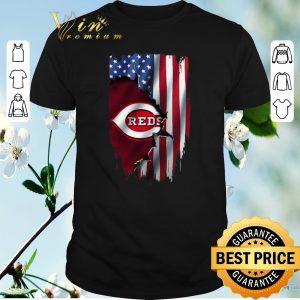 Original American Flag Cincinnati Reds shirt sweater