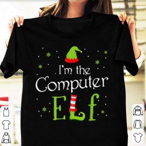 Original I'm The Computer Elf Funny Group Matching Family Xmas Gift sweater